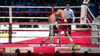 видео Кличко - Поветкин (2013).  Лучшие моменты.  (12 раундов за 12 минут)