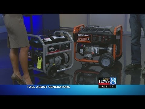 Choosing which generator to buy