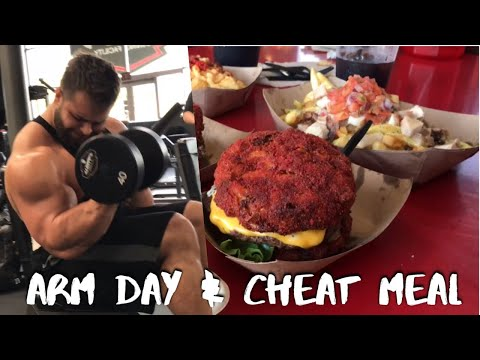 Bodybuilding Epic Cheat Meal & Arm Day