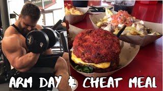 Bodybuilding Epic Cheat MealArm Day