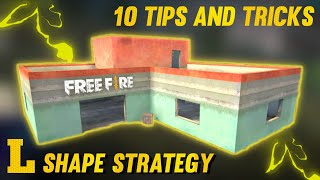 Top 10 L Shape House Secret Strategy In Free Fire Tips And Tricks In Free Fire Youtube