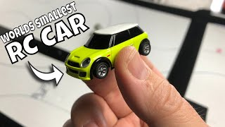 Is this the Smallest RC Car in the World? It's Fully Proportional! 1/76 Scale RC Turbo Mini