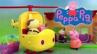 Peppa Pig Hélicoptère de Mme Lapin Miss Rabbit's Helicopter Shopkins Saison 3 Jouets