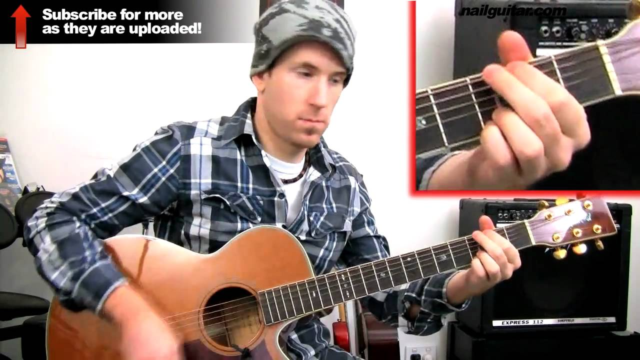 how to play the girl guitar