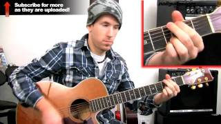 'Only Girl In The World' Rihanna - How To Play Songs 4 Beginners - Easy Acoustic Guitar Lessons