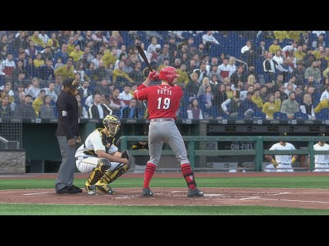 MLB The Show 19 Gameplay - Pittsburgh Pirates Vs Cincinnati Reds – 4 Inning Game MLB 19