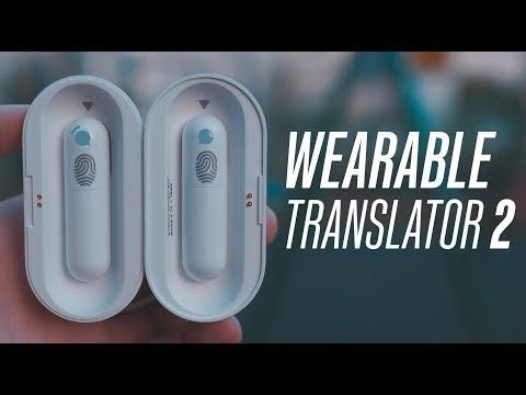 Wearable Translator 2 Plus - общение на любом языке с помощью гарнитуры