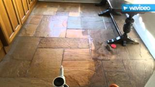 Indian Sand Stone Floor Cleaning and Sealing, Manchester