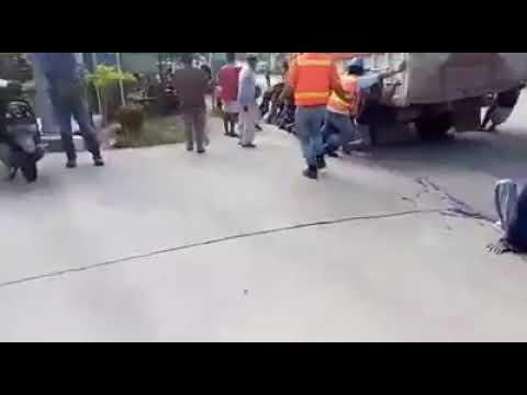 Kecelakaan Maut Ibu ketindis Truck di Bontang Kaltim