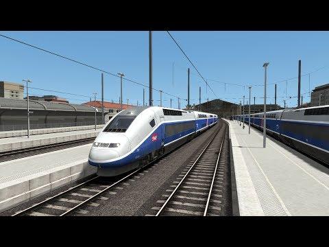 Train Simulator 2018: TGV Marseille to Avignon | Custom Scenario | TGV Duplex HD