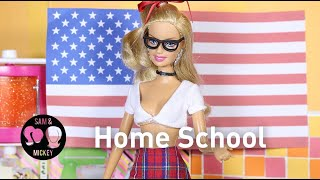 Home School - A Barbie parody in stop motion *FOR MATURE AUDIENCES*
