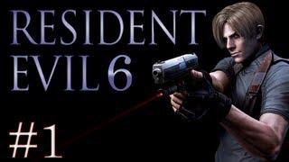 Resident Evil 6 : L'assassinat | Episode 1 - Let's Play Coop