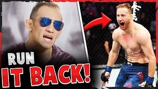 Tony Ferguson sends a message to Justin Gaethje + accuses him of being HELPED in their fight, Khabib