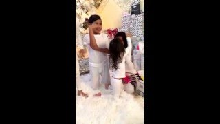 The unexpected surprise for this little innocent doll and how her little Sister consoles her!