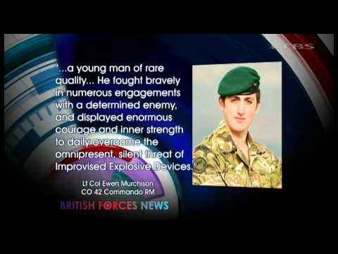 Tributes to Royal Marine shot dead in Afghanistan 21.09.11