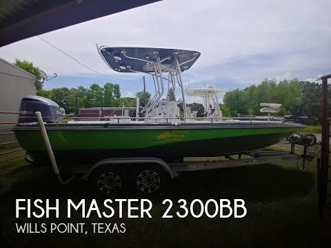 [SOLD] Used 2003 Fish Master 2300BB In Wills Point, Texas