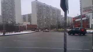Дрифт на малом кругу в Марьино, ЮВАО, Москва(, 2014-02-13T16:50:03.000Z)