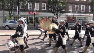 UVF Regimental Band clip 2 - 12th July Morning Belfast 2012