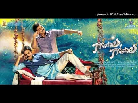 Gopala Gopala First Look Motion Poster BGM | Anup Rubens | Pawan Kalyan | Venkatesh