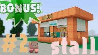 Minecraft - как построить киоск? (Bonus #2)(Пиар - https://vk.com/topic-43673219_31902211 Всем привет!!! В перерыве м-у частями я решил сделать бонусный выпуск. В нём..., 2012-11-11T14:44:35.000Z)