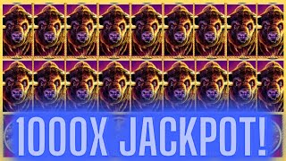 ALL 15 GOLD BUFFALO'S IN RECORD 13 SPINS! JACKPOT! HANDPAY!