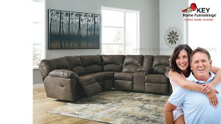 Ashley Tambo 2 Piece Reclining Sectional (APK-27802-S2) | KEY Home
