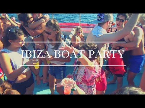 Ibiza Day 2 Bora Bora Beach | Cirque De la nuit Boat Party | Best Boat Party in Ibiza 2016