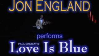"LOVE IS BLUE: Jon England (a-la Paul Mauriat) aboard ""Silver Whisper""; March 2011"