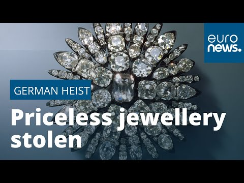Priceless diamonds, rubies and emeralds seized in massive German museum heist