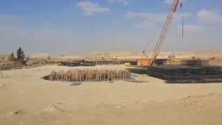 See video transfer Salam Canal down the new Suez Canal