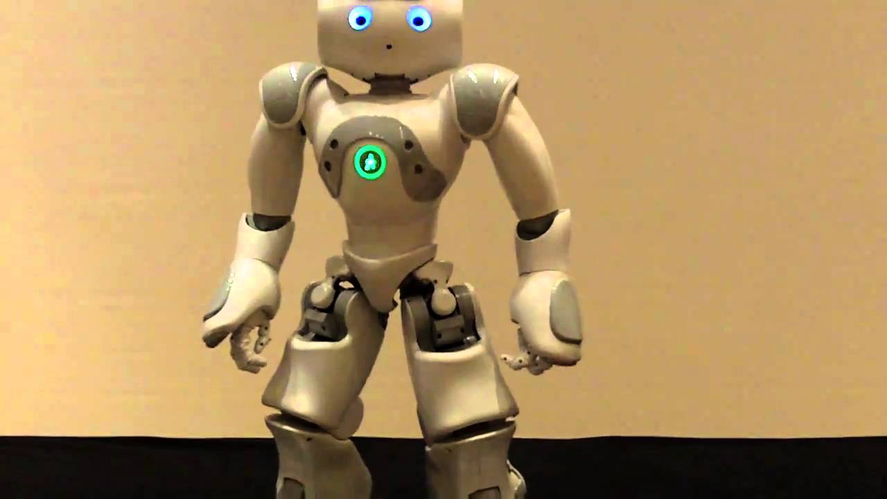 Nao robot does star wars youtube - Robot blanc star wars ...