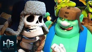 Esqueleto Gigante Vs Duende Gigante Rap Español Clash Royale Hat Black Ft  Pecero La Pecera Tonta