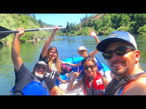 RAFTING In The Rogue River, Southern Oregon
