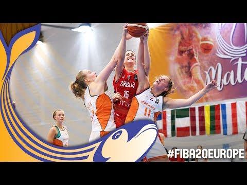 Netherlands v Serbia - Full Game - FIBA U20 Women's European Championship 2017