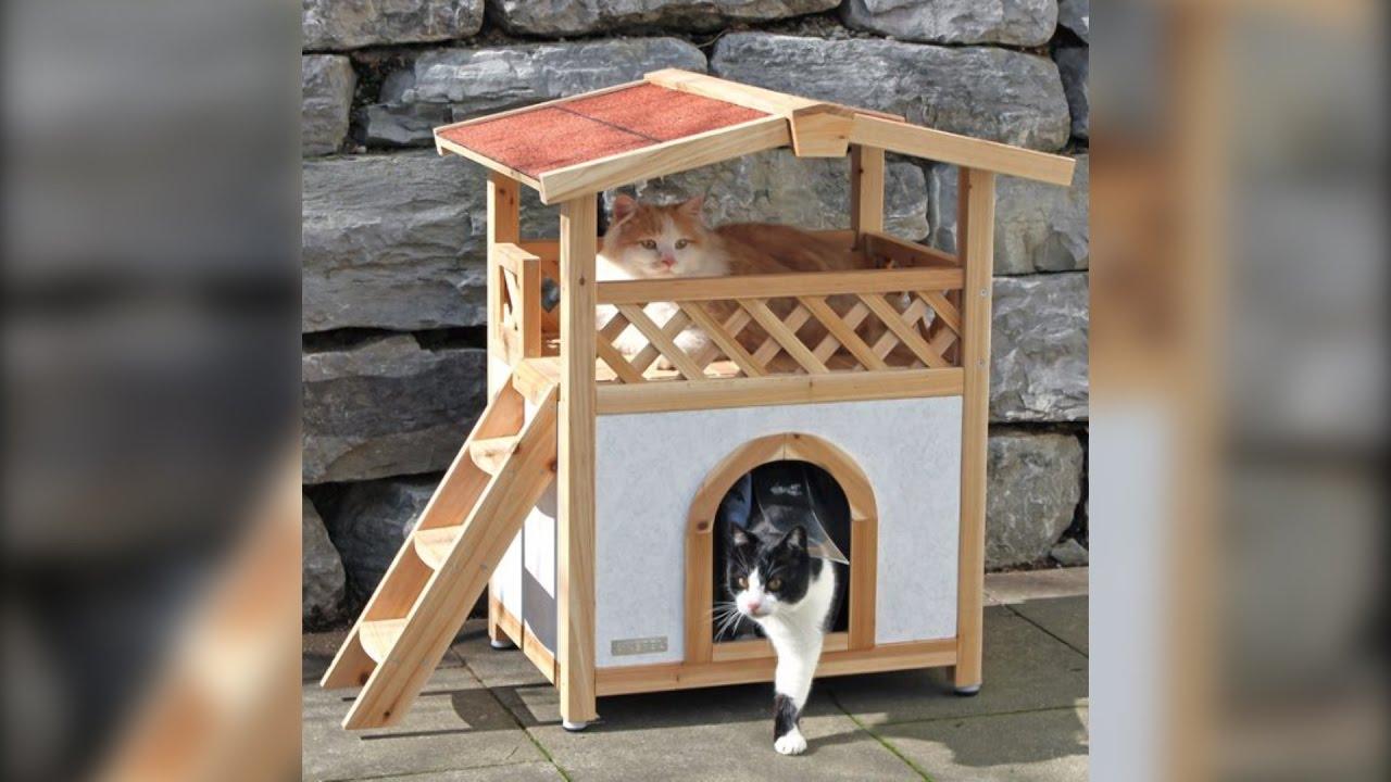 Casas para gatos camas y juegos ideas dise os - Casas para gatos baratas ...