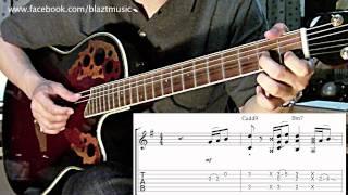 สอน Intro หน่วง - ROOM 39 (พร้อม TAB Guitar + Chord by WHIN)