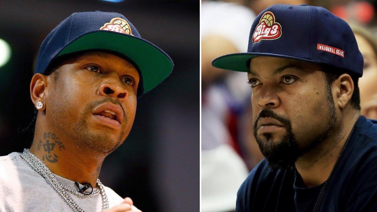 5c9c8b29ee0 Allen Iverson Quits Ice Cubes Big 3 Basketball League For Good! - Hip Hop  News Uncensored