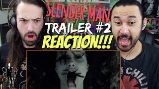 SLENDER MAN - Official TRAILER 2 REACTION!!!
