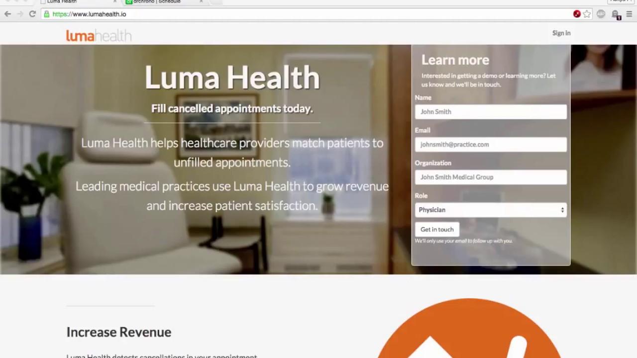 Luma Health & DrChrono's New Partnernship   DrChrono Blog