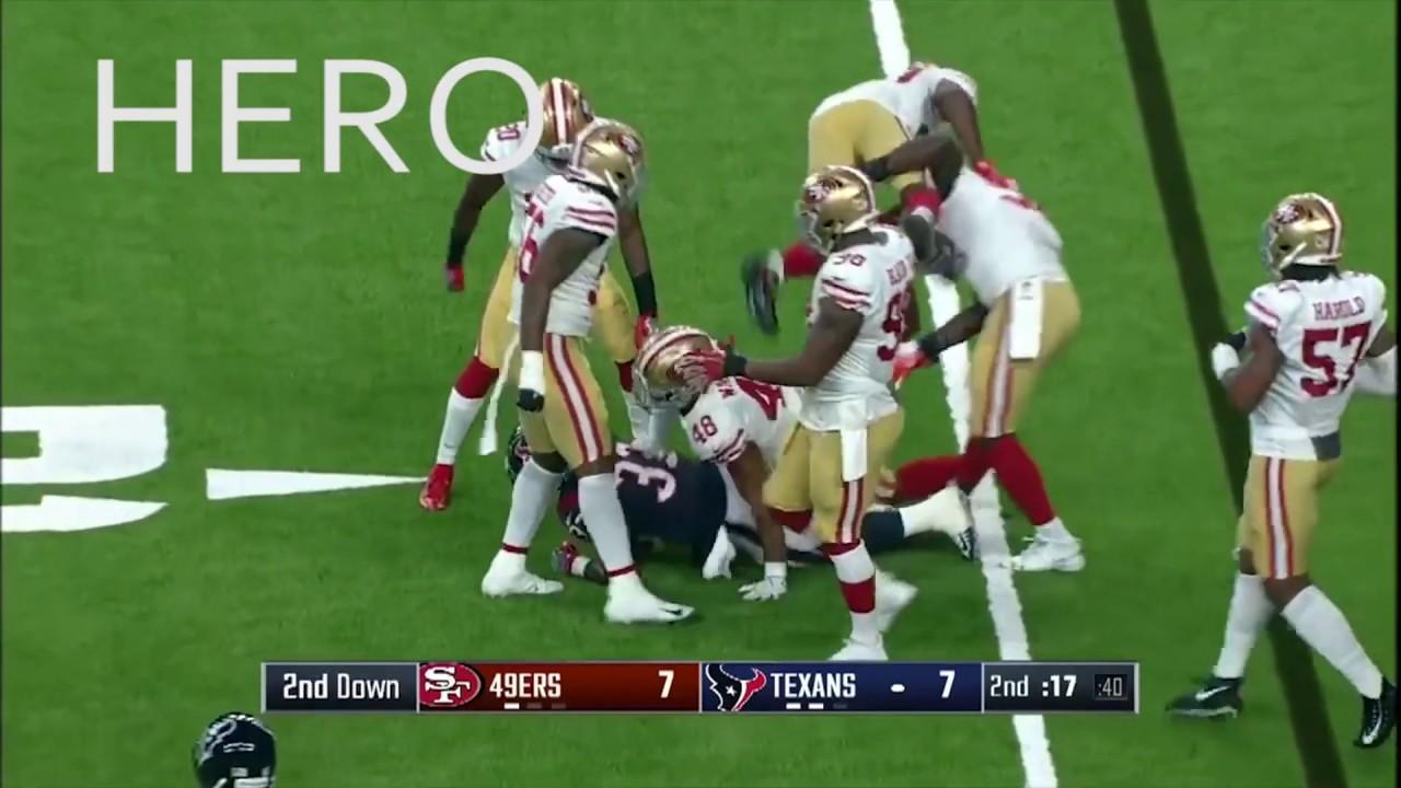 ccc002d5a 49ers' Rookie LB Fred Warner vs Texans Highlights | NFL 2018 Preseason Week  2