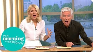 Holly and Phillip Are Already Hooked on the New Series of Love Island | This Morning
