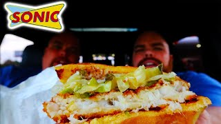 SONIC'S FISH SANDWICH IS BACK! THIS IS FISH SANDWICH WEEK! Food Review