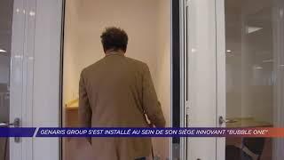 Yvelines | Genaris Group s'est installé au sein de son siège innovant «Bubble One »