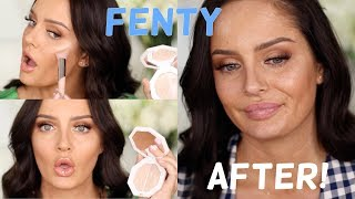 FENTY Beauty GRWM + 10 Hour Fenty Wear Test!