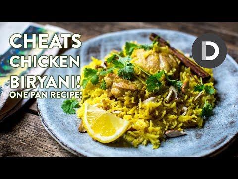 One Pan Chicken Biryani!
