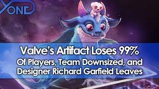 Valve's Artifact Loses 99% of Players, Team Downsized, & Designer Richard Garfield Leaves