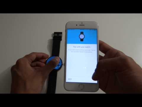 Android Wear Setup On IOS