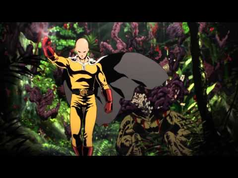 One Punch Man   Opening  The Hero!! Set Fire to the Furious Fist