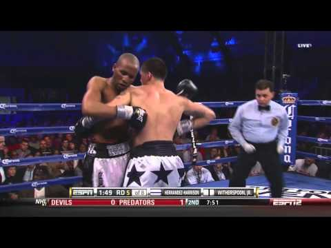 Dusty Hernandez Harrison vs Tim Witherspoon Jr  in HD