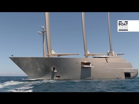 """A"" LARGEST SAILING SUPERYACHT IN THE WORLD SPOTTED IN CAPRI  - The Boat Show"